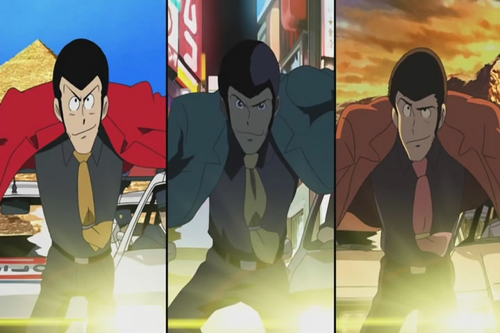 Lupin III: Red vs. Green