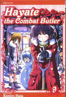 Hayate the Combat Butler Manga Volume 9