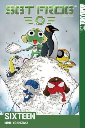 Sgt. Frog Manga Volume 16