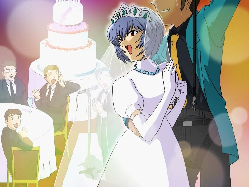 Rei marries Lupin