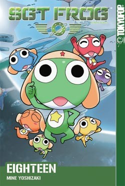 Sgt Frog Volume 17 by Mine Yoshizaki