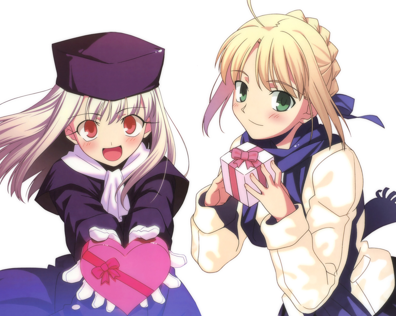 Happy Valentine S Day Fate Stay Night Astronerdboy S Anime
