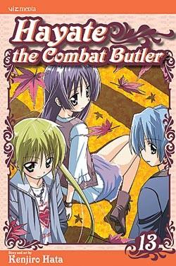 Hayate the Combat Butler Manga Volume 13
