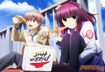 Angel Beats! -- Fun With Pizza Hut