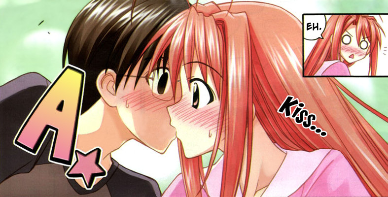 Love Hina Manga Special