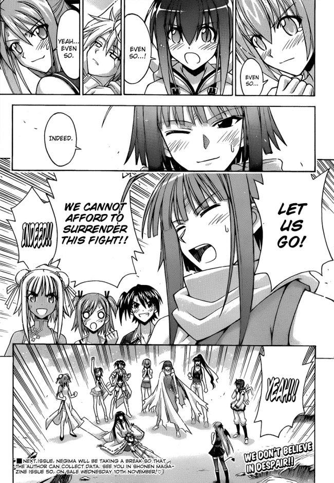 Negima! Manga Vol 34 Ch 307 Review