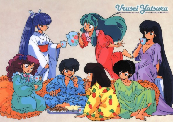 Urusei Yatsura Slumber Party (Because I Can)