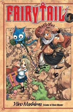 Fairy Tail Manga Volume 01