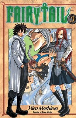 Fairy Tail Manga Volume 03