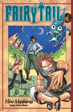 Fairy Tail Manga Volume 04