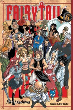 Fairy Tail Manga Volume 06