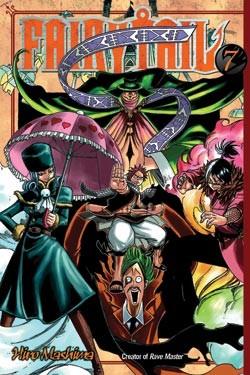 Fairy Tail Manga Volume 7