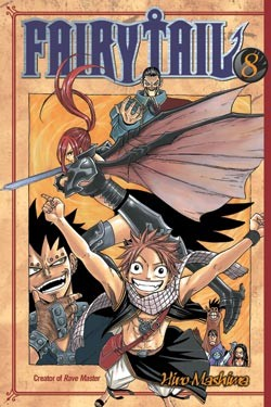 Fairy Tail Manga Volume 08