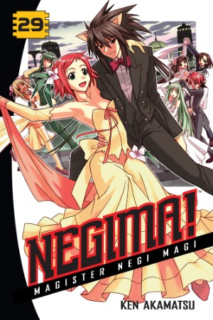Negima! Manga Volume 29 Review