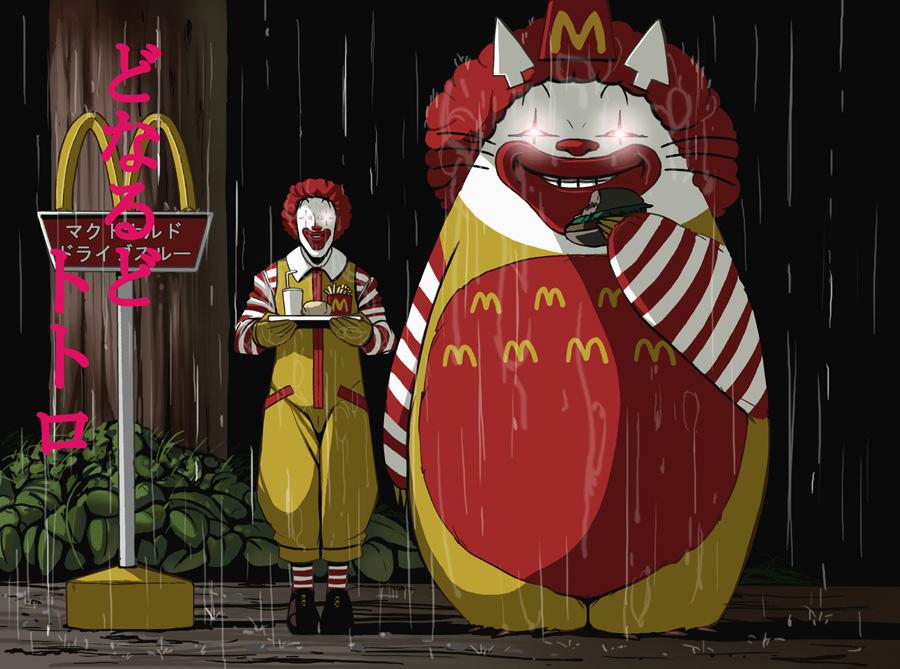 Totoro and McDonalds