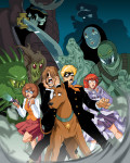 Happy Halloween with Anime Scooby Doo!
