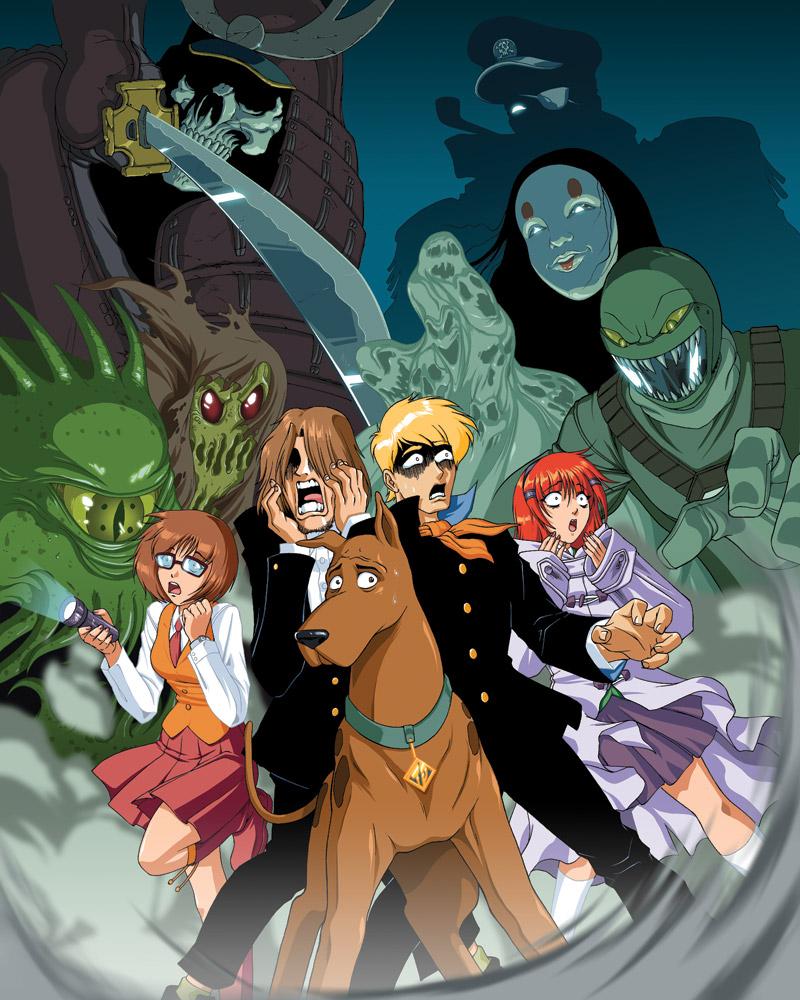 happy halloween with anime scooby doo! - astronerdboy's anime