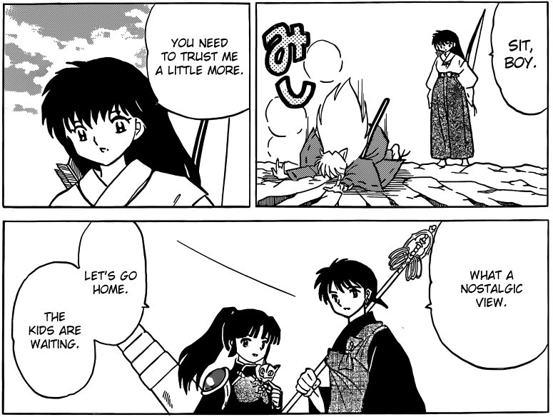 "Inuyasha ""Since Then"" Epilogue Manga Review"