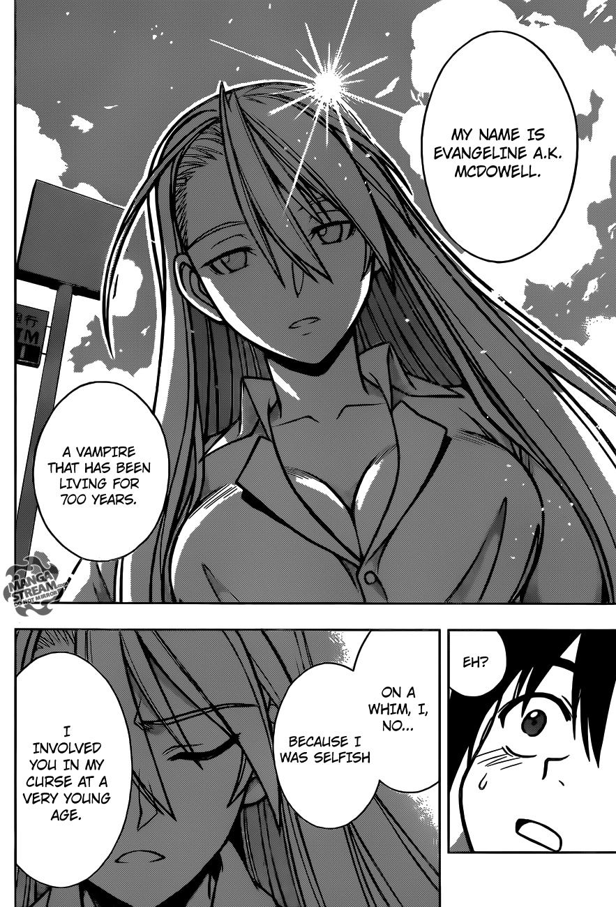 Uq Holder Manga Chapter 001 Review Eva From Negima Is Here With