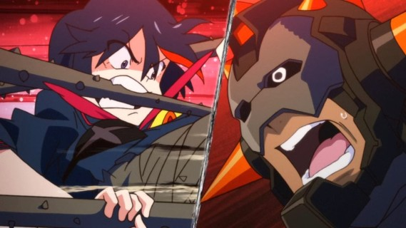 KILL la KILL- 09 (Time to defeat an unyeilding shield.)
