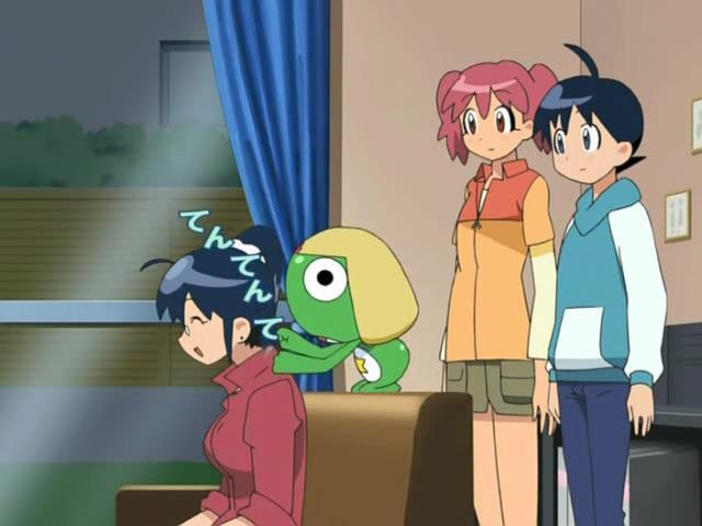 Keroro Gunsou Episode 109 (Of massages and Galaxy Express parody.)