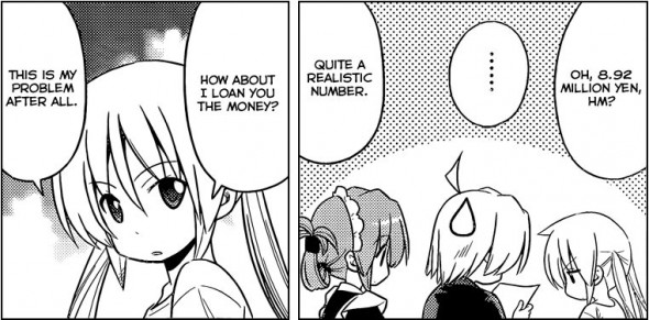 Hayate the Combat Butler Chapter 433