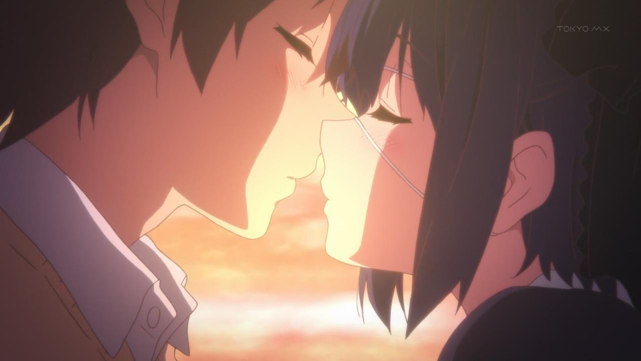 Chuunibyou Demo Koi ga Shitai! Ren 12 (To kiss or not to kiss, that is the question.)