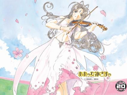 Ah! My Goddess - Belldandy violin