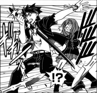 UQ Holder Chapter 34 SPOILER Images