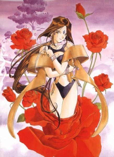 Ah! My Goddess - Peorth - Roses