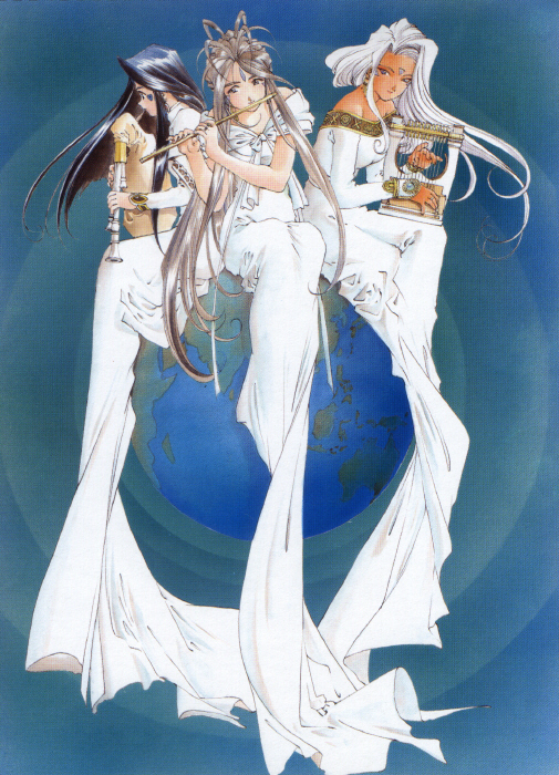 Ah! My Goddess - Skuld - Belldandy - Urd