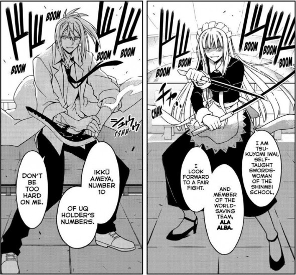 UQ Holder Chapter 39 Manga