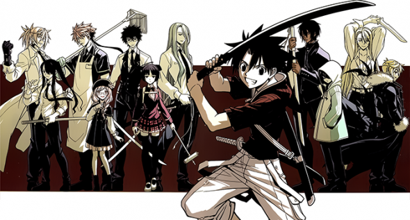 UQ Holder Chapter 40