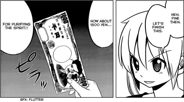 Hayate the Combat Butler Chapter 459