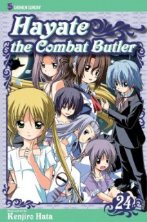 Hayate the Combat Butler Volume 24