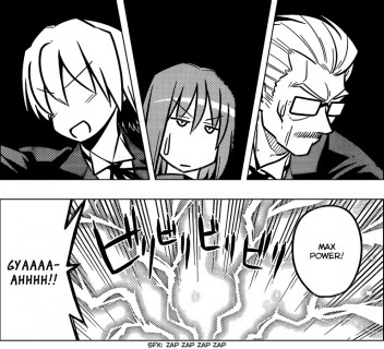 Hayate the Combat Butler Chapter 465