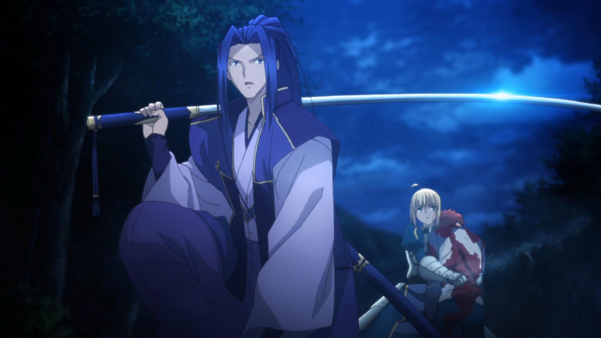 14 responses to fate stay night unlimited blade works 07 you