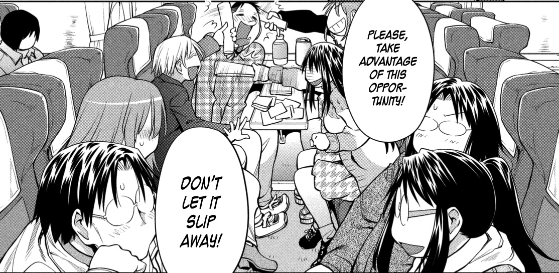 Genshiken Nidaime Chapter 107