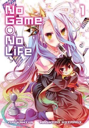 No Game No Life 01 Manga