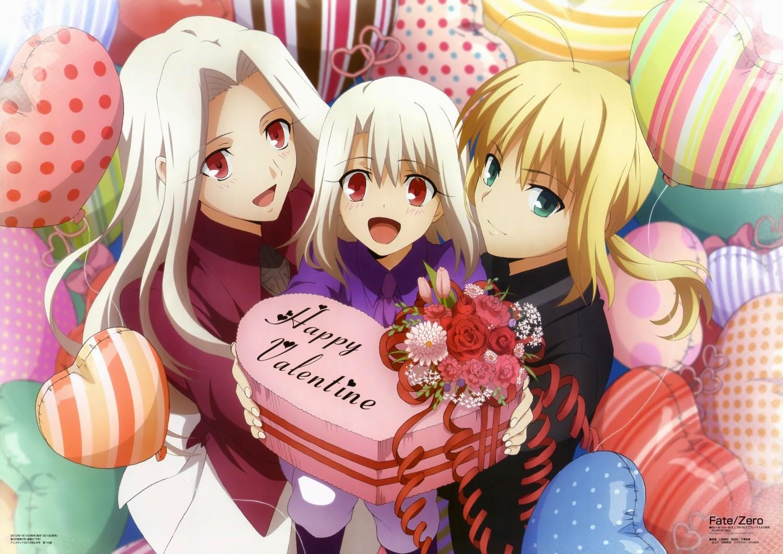 Fate/Zero Iri, Ilya, Saber Valentine