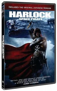 Harlock Space Pirate DVD