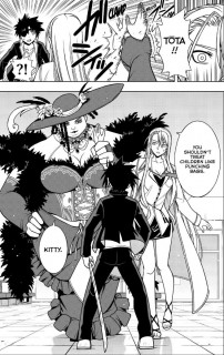 UQ Holder Chapter 76
