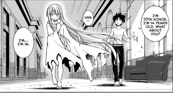 UQ Holder Chapter 80