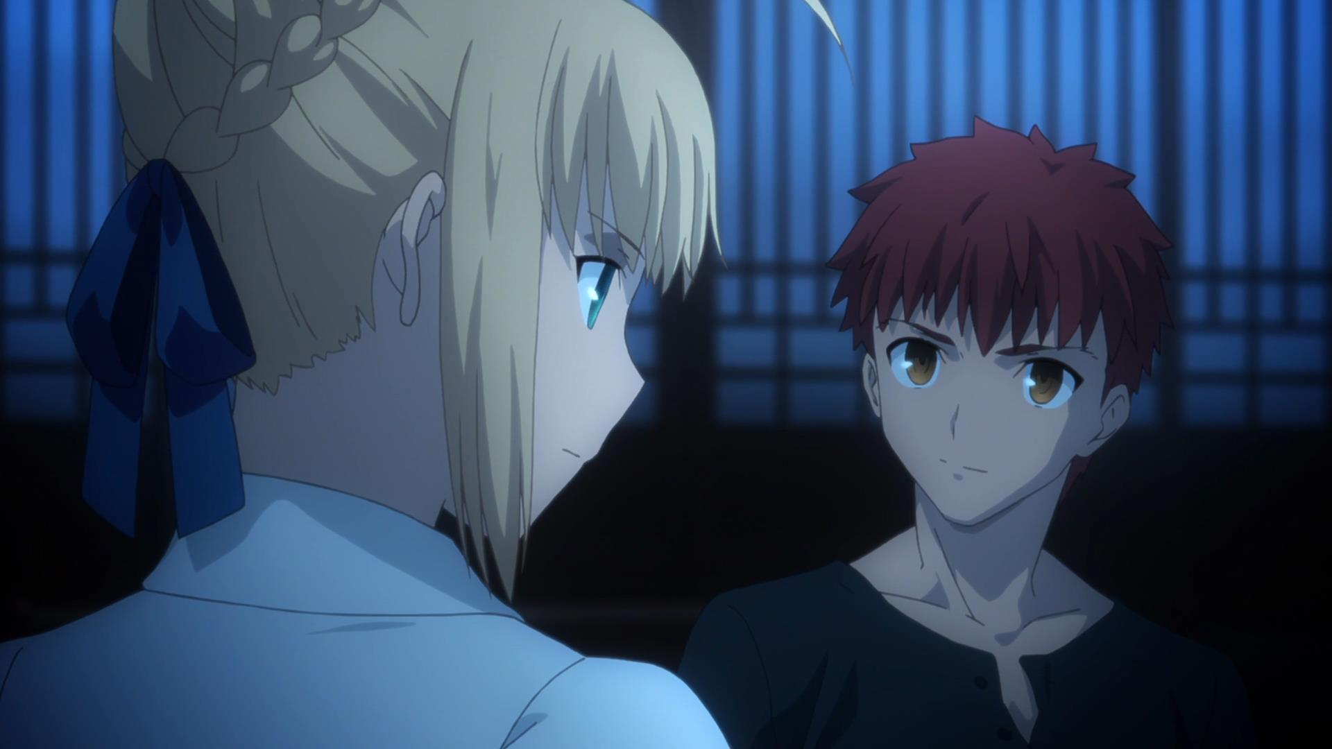 saber and shirou ending a relationship