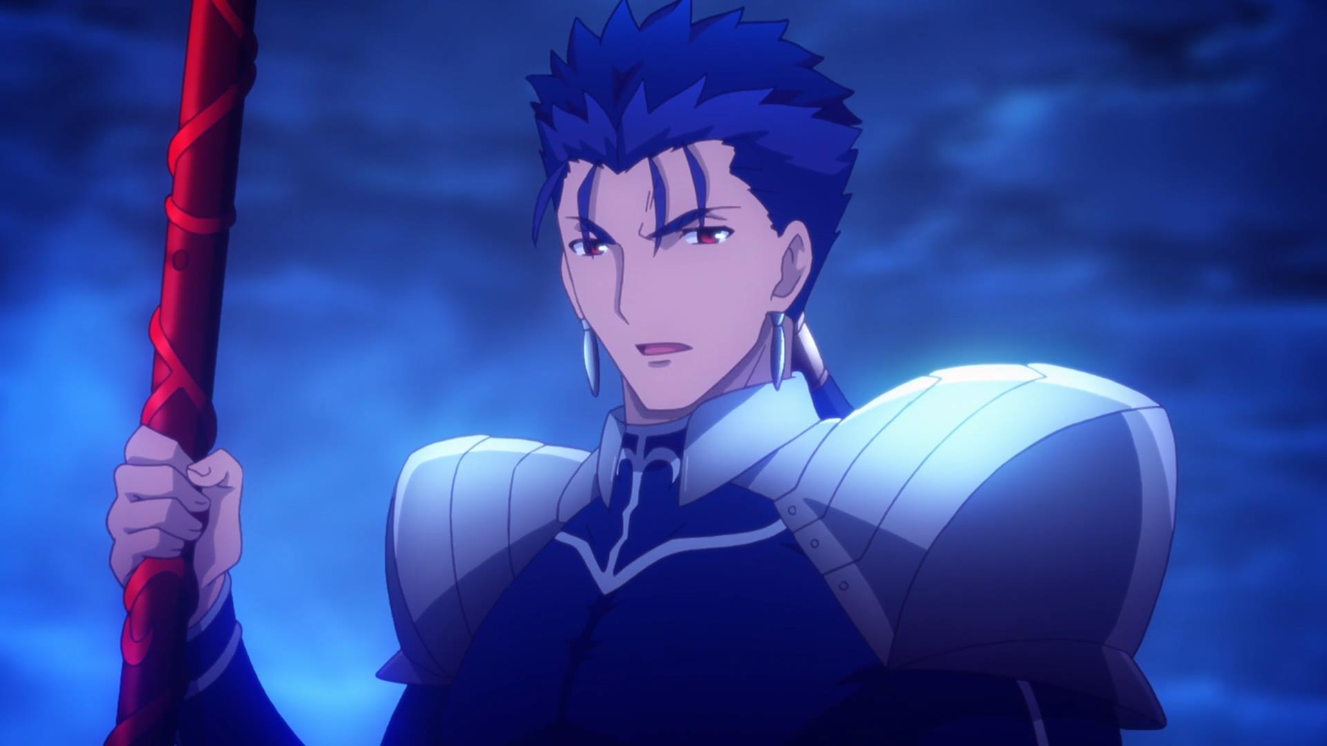 Fate Stay Night Unlimited Blade Works 17 Old School Mage Vs