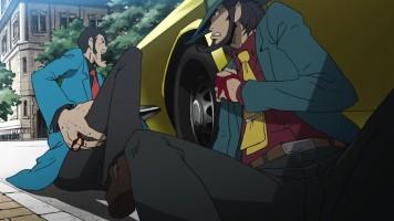 Lupin the IIIrd: Daisuke Jigen's Gravestone
