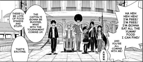 UQ Holder Chapter 95