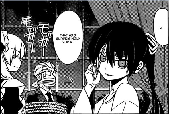 Hayate the Combat Butler Chapter 527