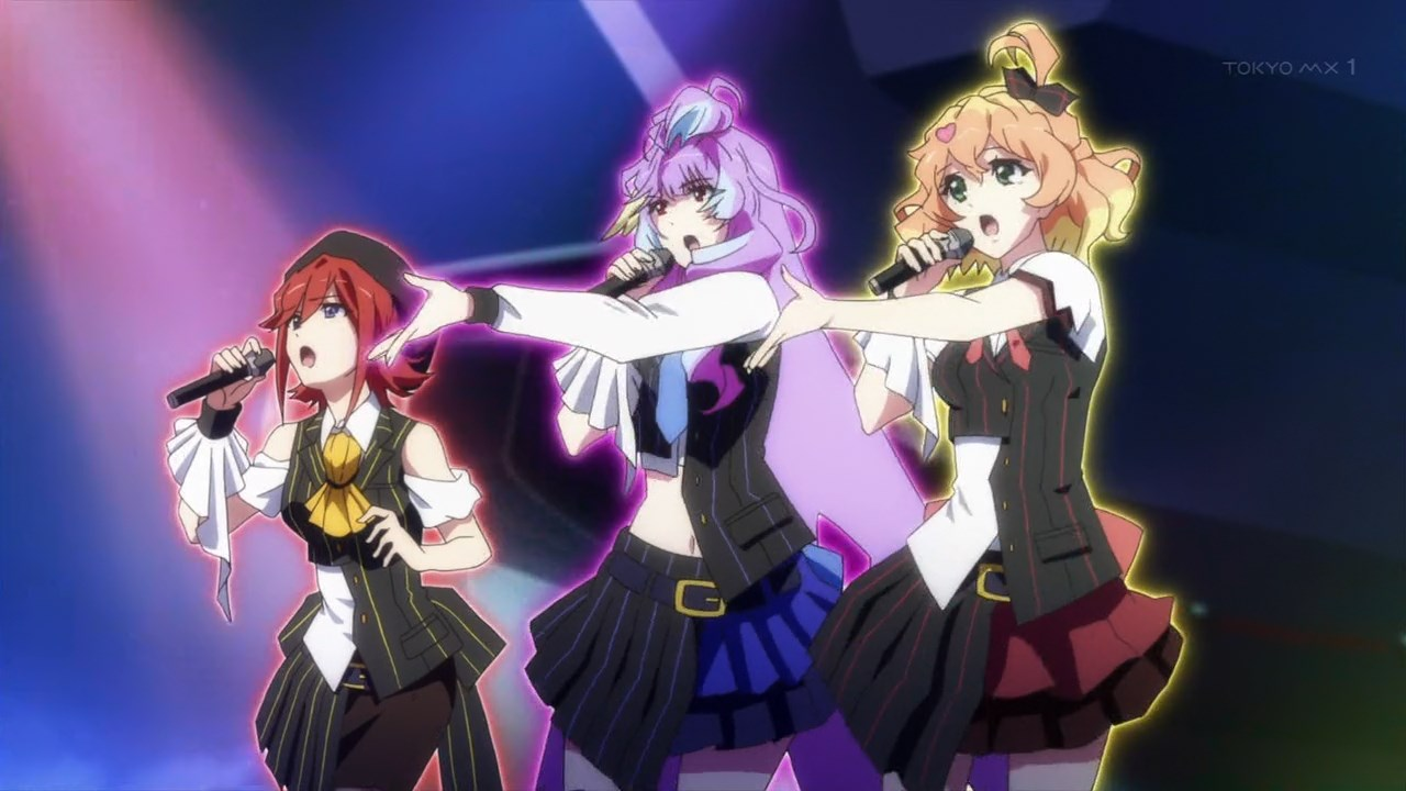 Macross Delta 09 Review Desperately Trying To Get A Love Triangle