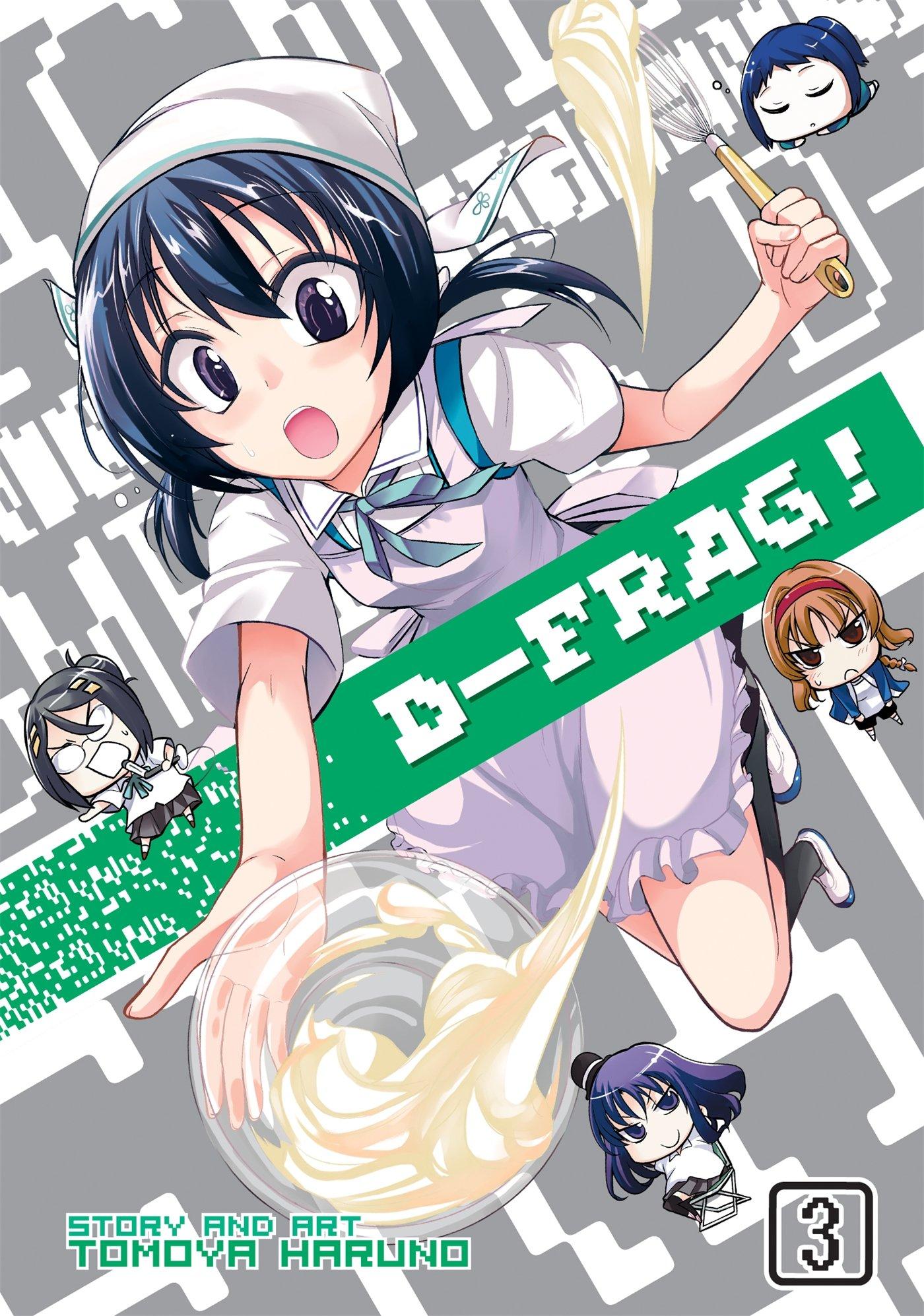 D-Frag! Volume 03 Manga Review - AstroNerdBoy's Anime ...